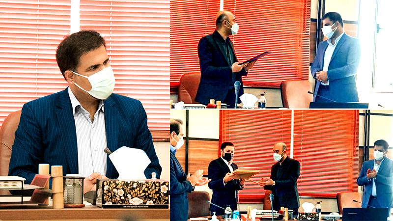 تودیع و معارفه دکتر اسدی مدیر عامل جدید شرکت صنیع کاوه