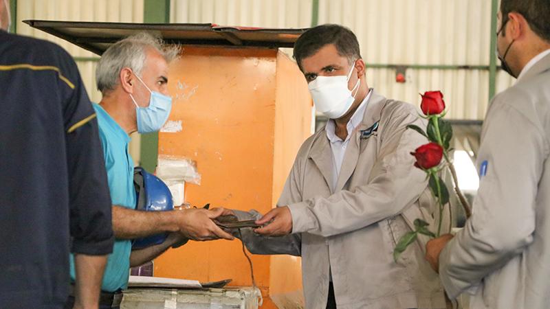 دیدار دکتر اسدی با پرسنل شرکت به مناسبت روز کارگر